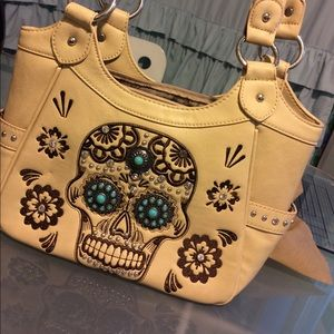Montana West Sugar Skull Bag